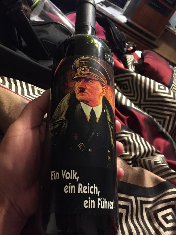 Bottle of Hitler's wine unopened...
