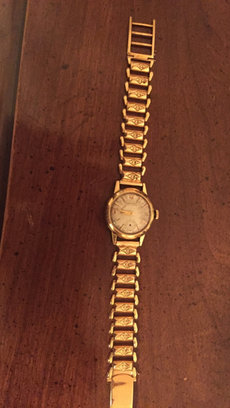 1930s 18k ladies certina watch...