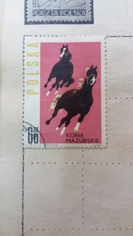 Postal Stamp Poland Value