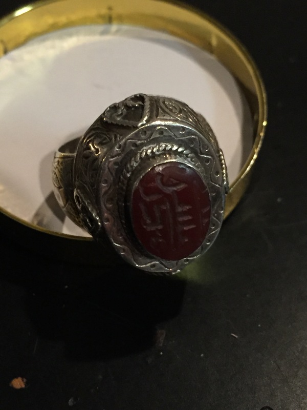 Late 1800 to early 1900 ring