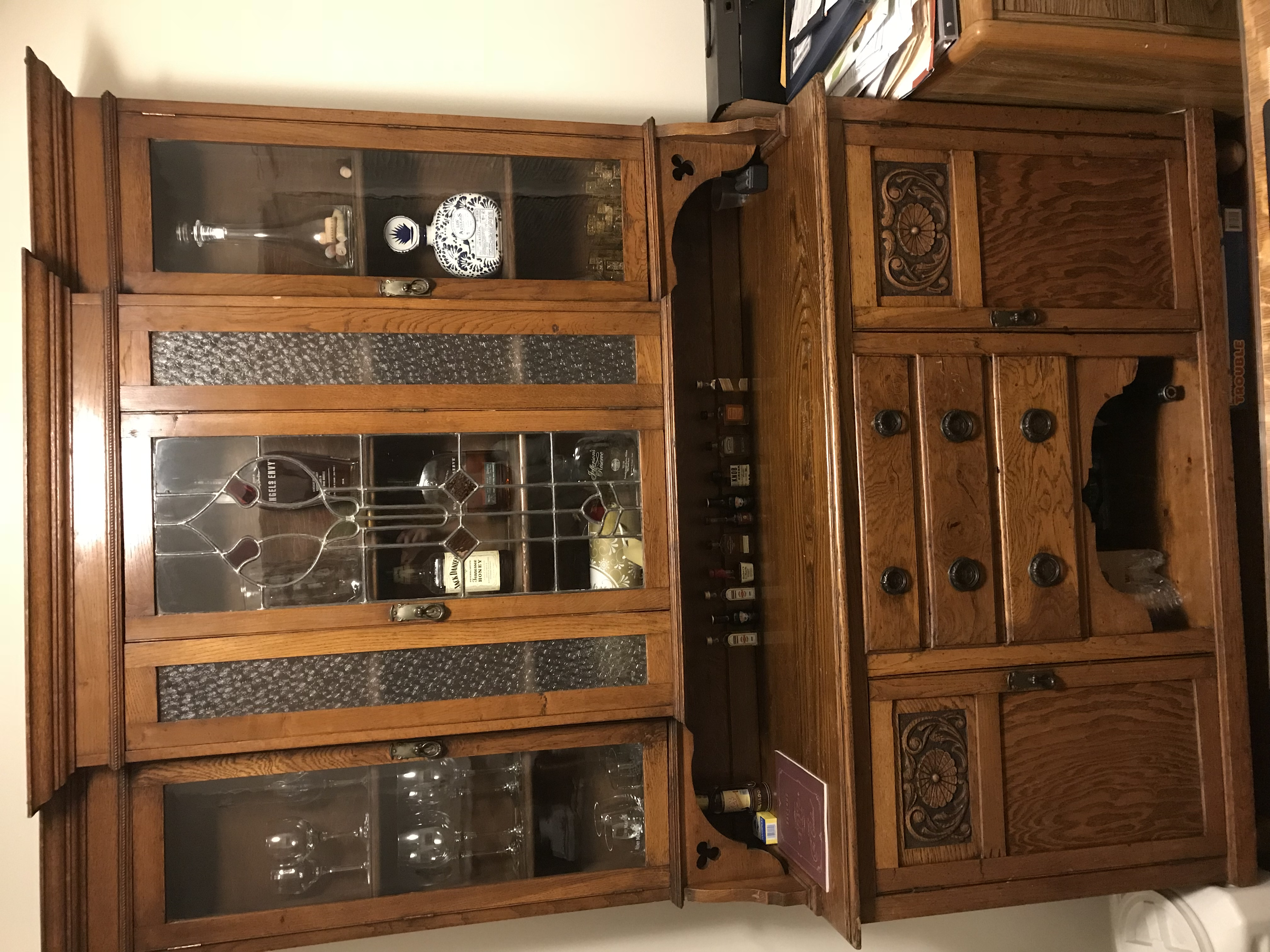 img antique urbanamericana in craftsman products built hutch