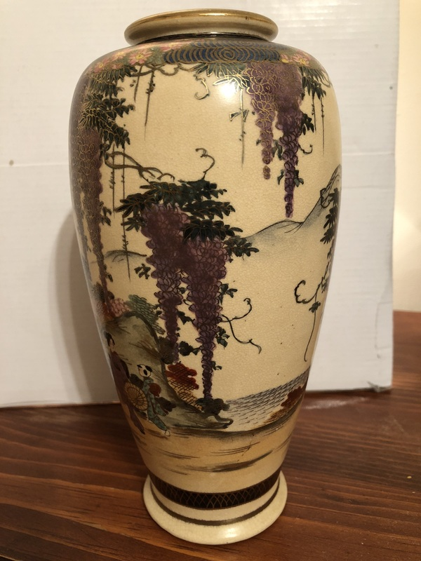 Satsuma Japanese Vase