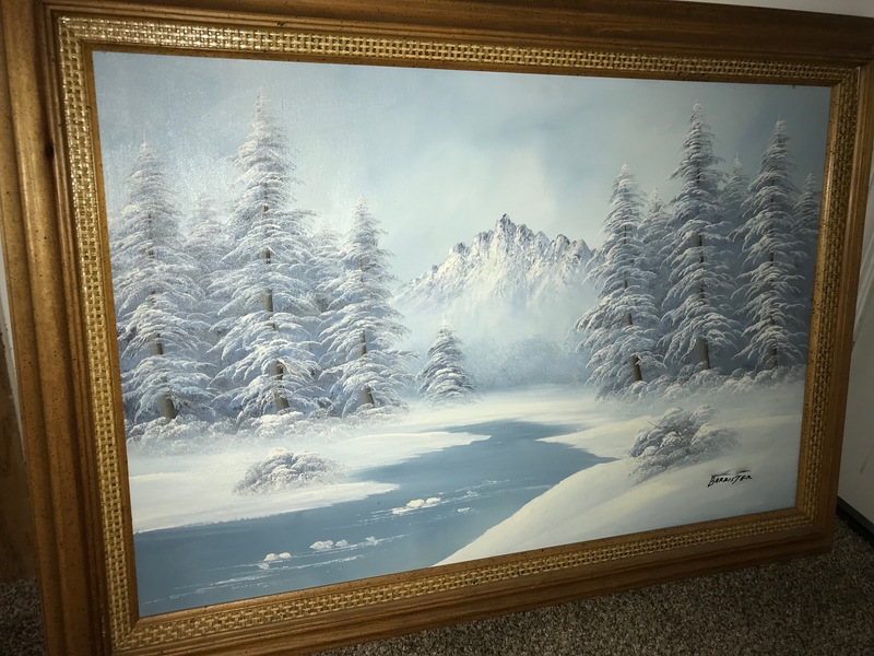 Barrister landscape painting