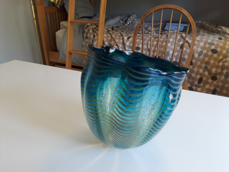 Chihuly glass bowl