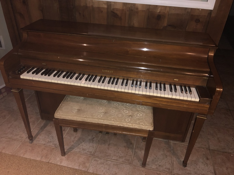 Kimball Electramatic Player piano