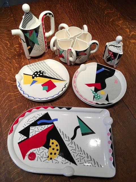 Memphis Collective Coffee/Tea Ceramic Service