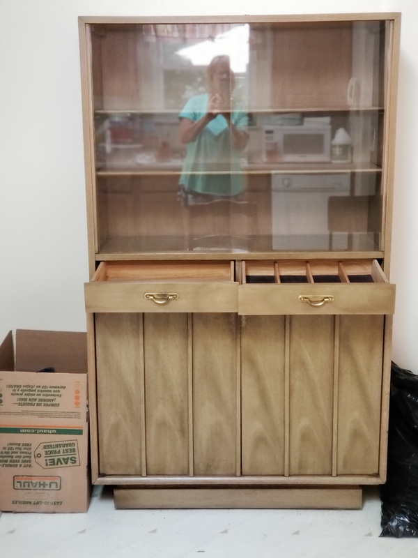 Antique Koehlet China Cabinet and Sideboard