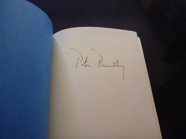 Jaws - 1st Edition Hardcover and Signed by Peter Benchley