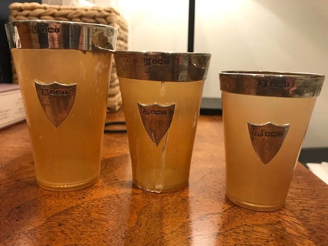 Horn Caved Cups