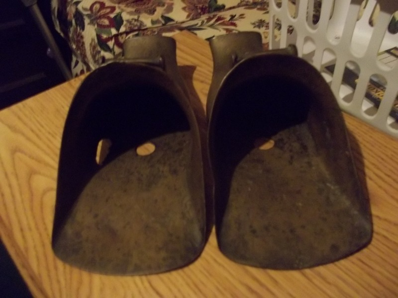 brass boot covers