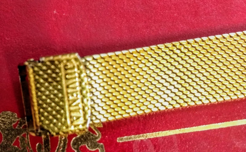 PMDB Juvenia gold watch