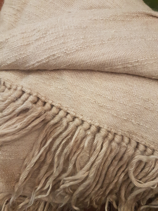 2 x identical Mohair bedspreads