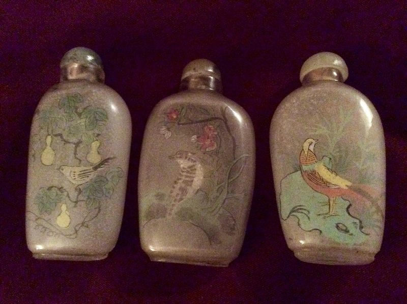 Chinese snuff bottle antique