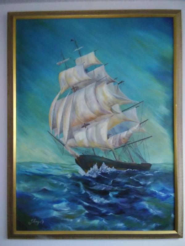 J. Angell painting