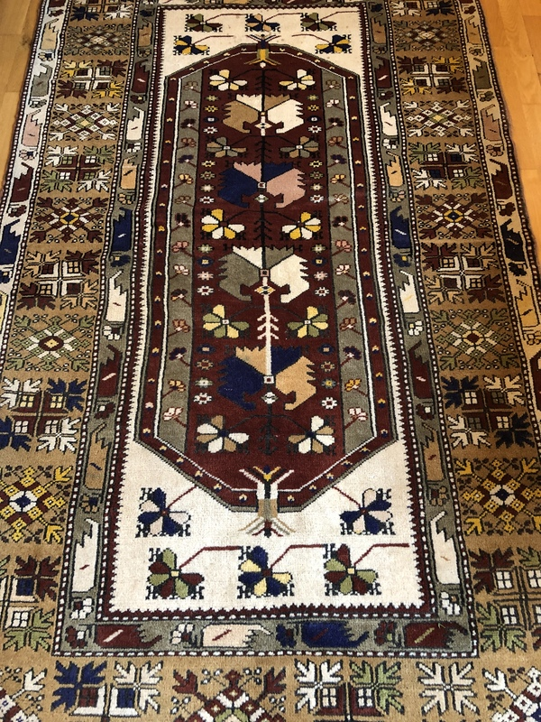 TK antique rug