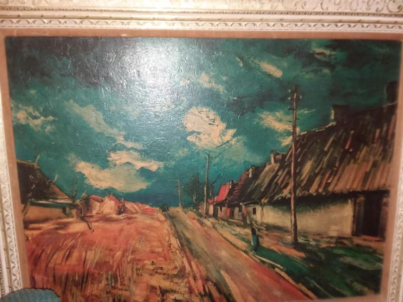 Thatched Cottages by Vlaminck