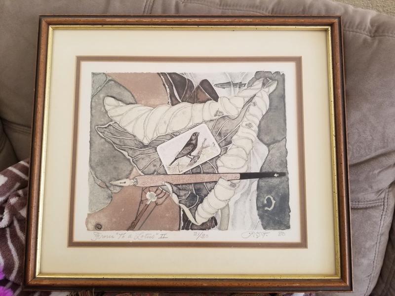 Robert B Green Lithograph