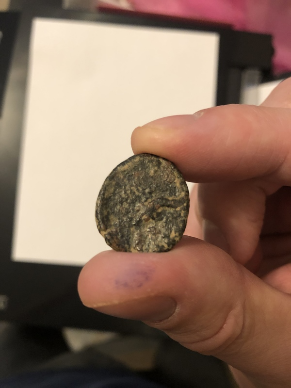 Roman coin, difficult to determine