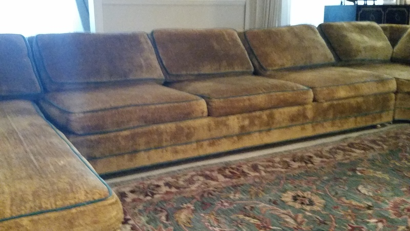 modern day furniture 3pc. low back sectional