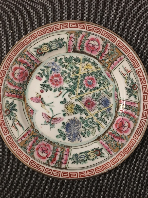 Chinese plates
