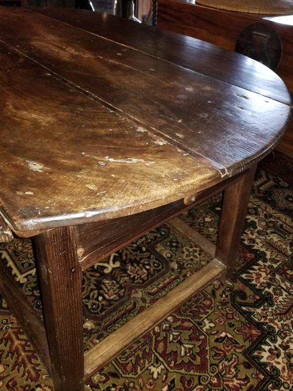 Primitive Tressel Table